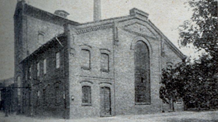 ul. Ząbkowska - Główny budynek fabryczny